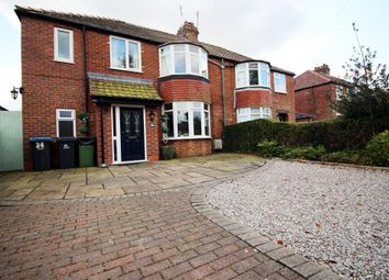 Thumbnail 4 bed semi-detached house for sale in East Lane, Shipton By Beningbrough, York