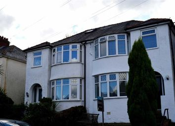 Thumbnail 3 bedroom semi-detached house for sale in New Road, Swansea