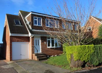 Thumbnail 4 bed semi-detached house for sale in Meadow View Road, Exmouth
