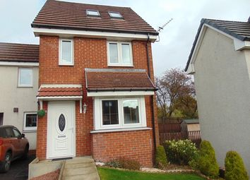 Thumbnail 3 bed town house for sale in Millgate Crescent, Caldercruix, Airdrie