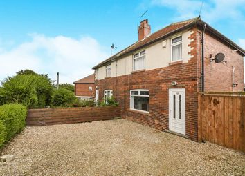 Thumbnail 3 bed semi-detached house to rent in The Crescent, Tingley, Wakefield