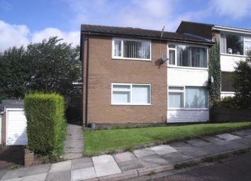 Thumbnail 2 bedroom flat to rent in Briarsyde Close, Whickham, Newcastle Upon Tyne