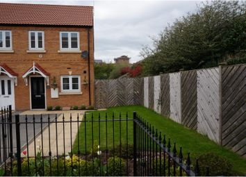 Thumbnail 2 bed semi-detached house for sale in Canalside View, Kilnhurst Mexborough