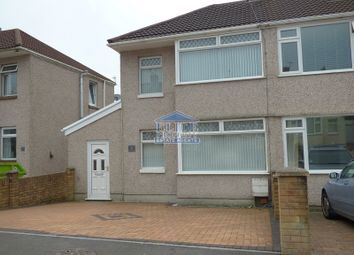 Thumbnail 3 bed property to rent in Garfield Avenue, Litchard, Bridgend.