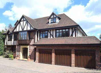 Thumbnail 5 bed detached house for sale in Silverdale Avenue, Ashley Park, Walton-On-Thames