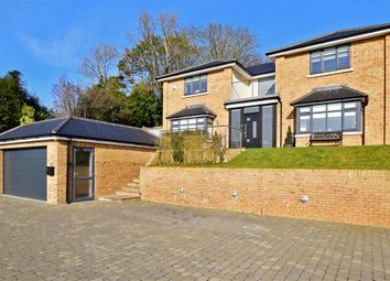 Thumbnail 4 bed detached house for sale in Park Road, Temple Ewell, Dover, Kent