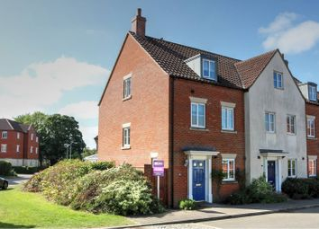 Thumbnail 4 bed end terrace house for sale in Marauder Road, Norwich