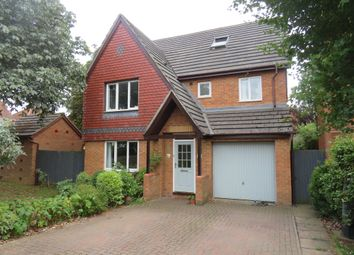 Thumbnail 4 bed detached house for sale in Regiment Close, Wootton, Northampton