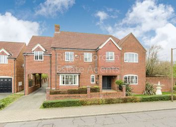 Thumbnail 5 bed detached house for sale in Clegg Square, Shenley Lodge, Milton Keynes