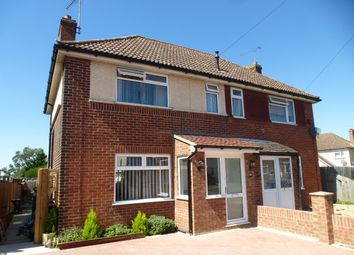 Thumbnail 3 bedroom semi-detached house for sale in Robeck Road, Ipswich