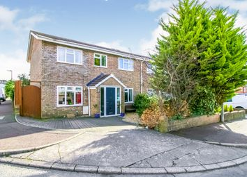 Thumbnail 4 bed semi-detached house for sale in Cledwen Close, Barry