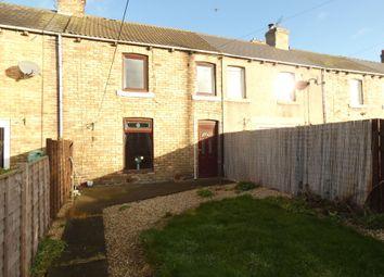 Thumbnail 3 bed terraced house for sale in Ninth Row, Ashington