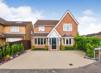 Thumbnail 4 bed detached house for sale in Johnston Way, Maldon