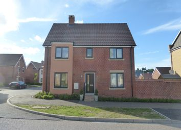 Thumbnail 3 bedroom semi-detached house for sale in Poethlyn Drive, Costessey, Norwich