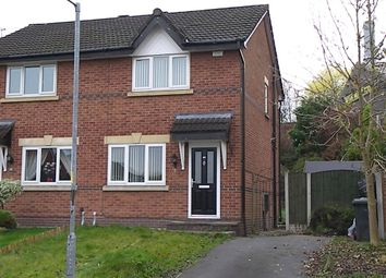 Thumbnail 2 bedroom semi-detached house for sale in Brentwood Drive, Farnworth