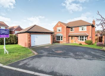 Thumbnail 4 bedroom detached house for sale in Rhuddlan Road, Buckley