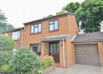 Thumbnail 3 bed semi-detached house for sale in Heronfield, Englefield Green, Surrey