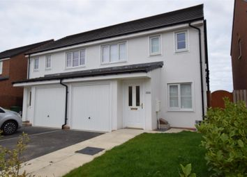 Thumbnail 3 bed semi-detached house for sale in De Havilland Way, Hartlepool, Durham