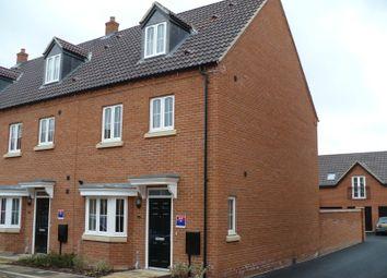Thumbnail 3 bed semi-detached house to rent in Poreham Road, Thrapston, Kettering