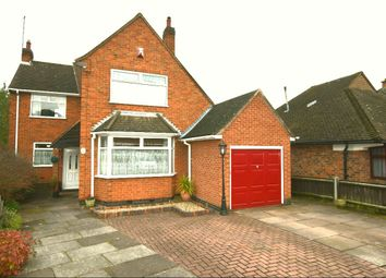 Thumbnail 4 bed detached house for sale in Hallam Avenue, Birstall, Leicester
