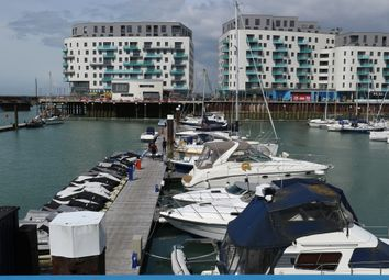 Thumbnail 1 bed flat to rent in Western Concourse, Brighton Marina Village, Brighton