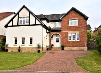 Thumbnail 5 bed detached house for sale in Snead View, Motherwell