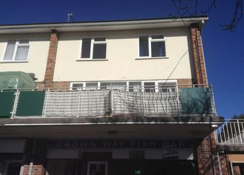 Thumbnail 3 bed flat to rent in Crownway, Leamington Spa