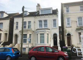 Thumbnail 2 bedroom maisonette for sale in Upper Maisonette, 45 Coolinge Road, Folkestone, Kent