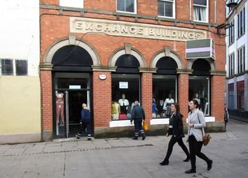 Thumbnail Retail premises to let in 6 Exchange Street, Exchange Street, Derby