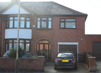 Thumbnail 5 bed semi-detached house for sale in Chesterfield Road, Evington, Leicester