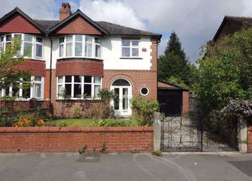 Thumbnail 3 bed semi-detached house for sale in Seymour Road, Mile End, Stockport