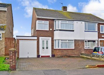 Thumbnail 3 bed semi-detached house for sale in Marden Road, Rochester, Kent