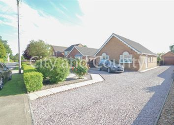 Thumbnail 3 bed detached bungalow for sale in Stockwell Gate, Whaplode, Spalding