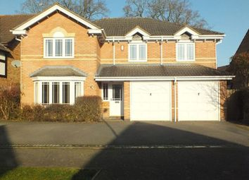Thumbnail 5 bed detached house to rent in Glendon Way, Dorridge, Solihull