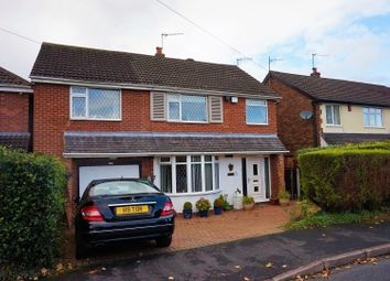 Thumbnail 4 bed detached house for sale in Meadow Lane, Stoke-On-Trent
