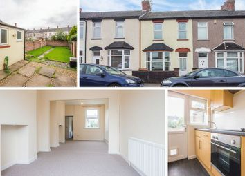 Thumbnail 3 bed terraced house for sale in Stafford Road, Newport