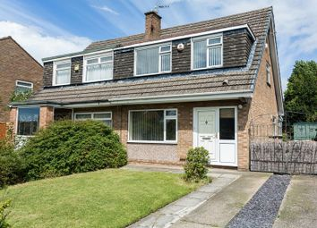 Thumbnail 3 bed semi-detached house for sale in Overton Way, Prenton, Wirral