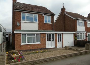 Thumbnail 3 bedroom detached house to rent in Aylestone Lane, Wigston, Leicester