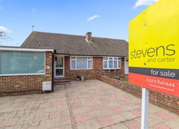 Gordon Road, Hailsham BN27. 2 bed semi-detached bungalow for sale