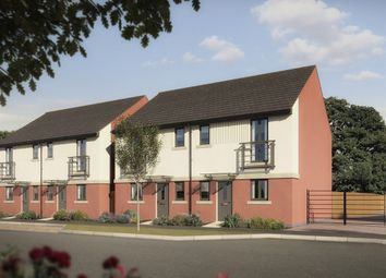 "Thumbnail 3 bed semi-detached house for sale in ""The Dahl"" at Pomphlett Farm Industrial, Broxton Drive, Plymouth"