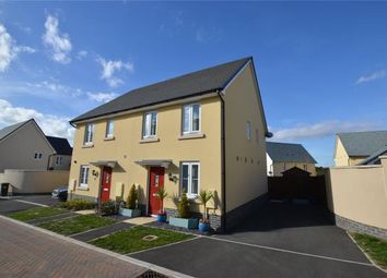 Thumbnail 2 bed semi-detached house for sale in Capra Close, Newton Abbot, Devon