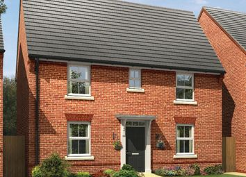"Thumbnail 3 bed detached house for sale in ""Hadley"" at The Lane, Lidlington, Bedford"
