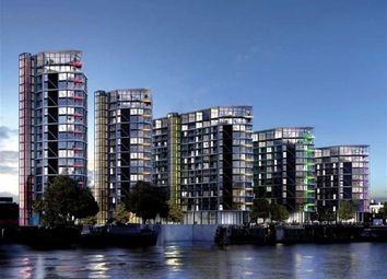 Thumbnail 1 bed flat for sale in Four Riverlight Quay, Nine Elms Lane, Vauxhall, London
