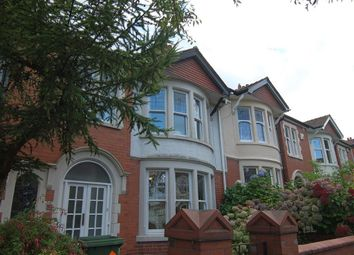 Thumbnail 3 bed terraced house to rent in Colchester Avenue, Penylan, Cardiff