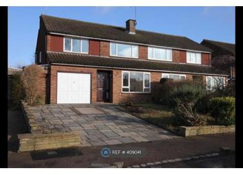 Thumbnail 4 bed semi-detached house to rent in High Firs Crescent, Harpenden