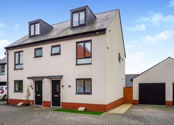 Thumbnail 3 bed semi-detached house for sale in Old Quarry Drive, Exeter