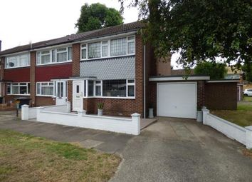 Thumbnail 3 bedroom end terrace house for sale in Hobbs Close, Cheshunt, Waltham Cross, Hertfordshire