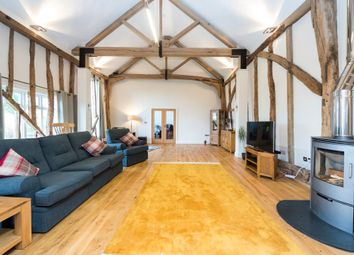 Thumbnail 4 bed barn conversion for sale in East End Road, Stonham Aspal, Stowmarket