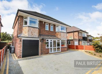 Thumbnail 4 bed detached house for sale in Gleneagles Road, Flixton, Manchester