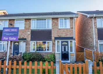 Thumbnail 3 bed semi-detached house for sale in Beech Walk, Kempston